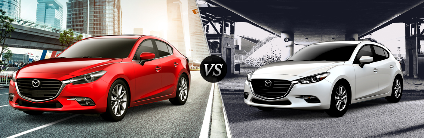 What Differences Exist Between The 2018 Mazda3 Sedan And Mazda3 Hatchback?