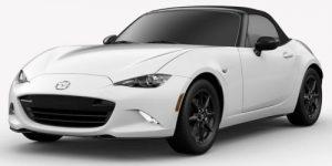 2019 Mazda MX-5 Miata Arctic White Exterior Color Option