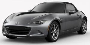 2019 Mazda MX-5 Miata Machine Gray Metallic Exterior Color Option
