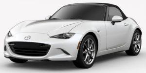 2019 Mazda MX-5 Miata Snowflake White Pearl Mica Exterior Color Option
