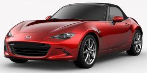 2019 Mazda MX-5 Miata Soul Red Crystal Metallic Exterior Color Option
