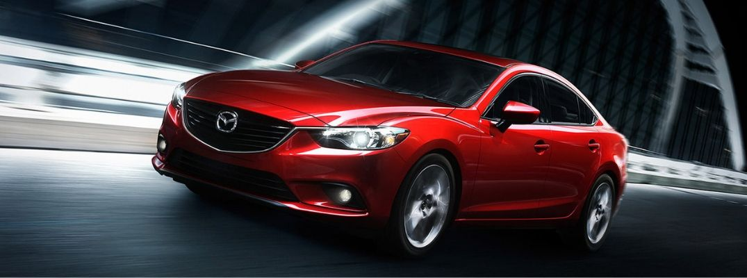 Exterior view of a Certified Pre-Owned 2015 Mazda6