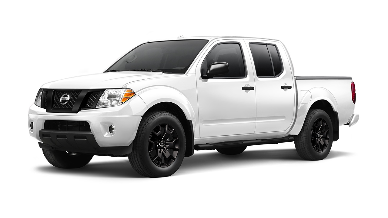 2018 Nissan Frontier Engine Options And Performance First Team Leaf Diagram Midnight Edition On Black Background In Glacier White