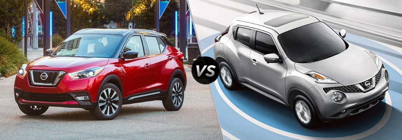 Nissan Kicks Vs Nissan Juke First Team Nissan Of New River Valley