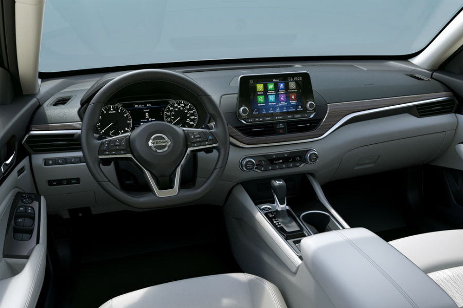 2019 Nissan Altima Interior Dashboard O First Team Nissan Of