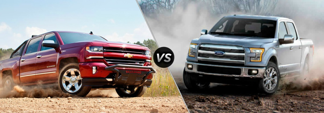 Chevy Silverado 1500 vs Ford F-150