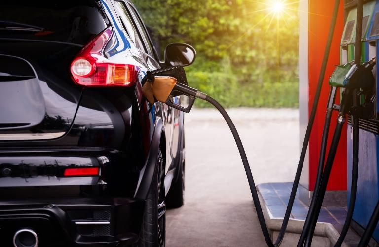 Vehicle Refueling at Gas Pump