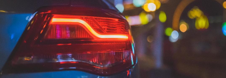 Taillight of vehicle