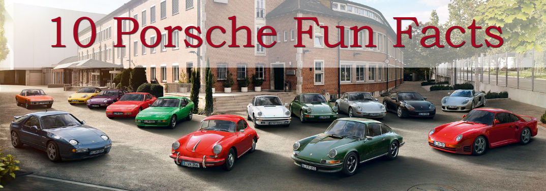 10 Porsche Fun Facts