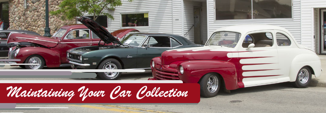 Tips on how to maintain your car collection