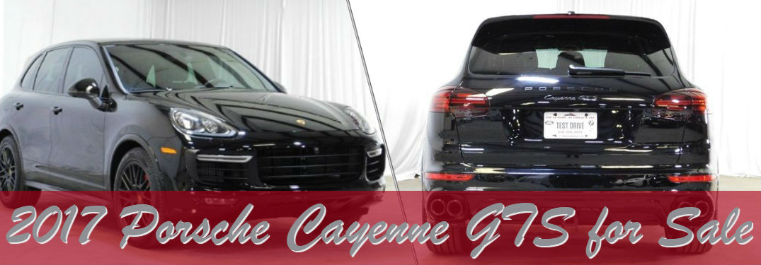 Pre-Owned 2017 Porsche Cayenne GTS for Sale at The Luxury Autohaus