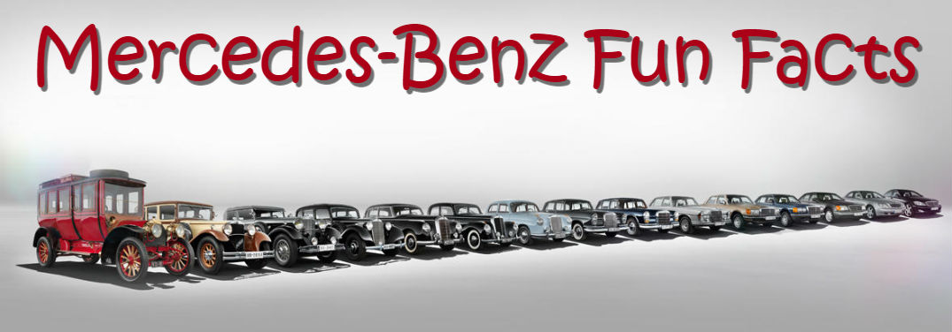 10 Mercedes-Benz Fun Facts with its generational lineup