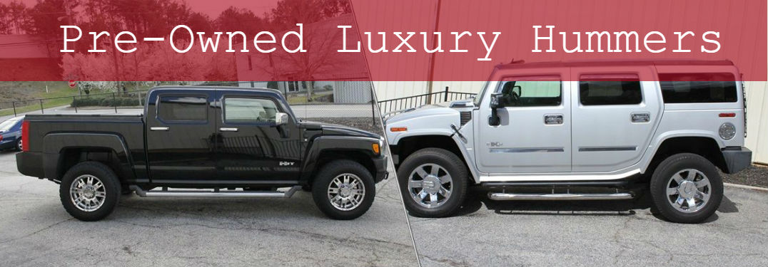 Pre-Owned Luxury Hummers available at The Luxury Autohaus