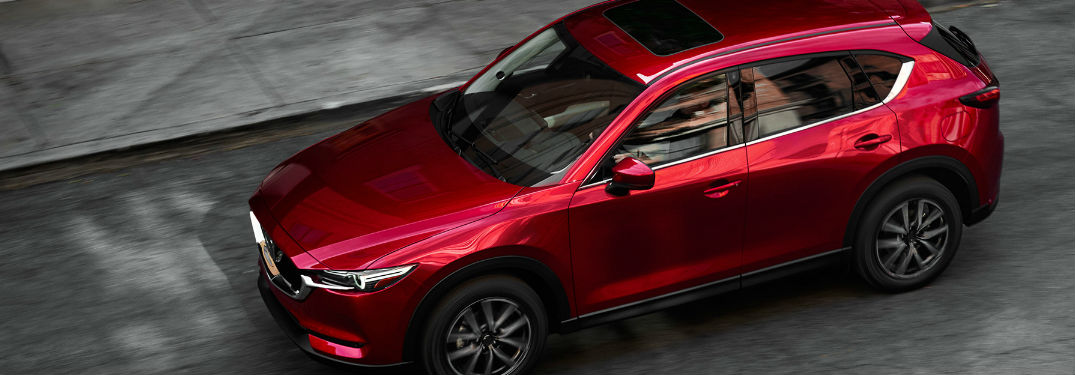 2017 Mazda CX-5 Side Exterior View in Red