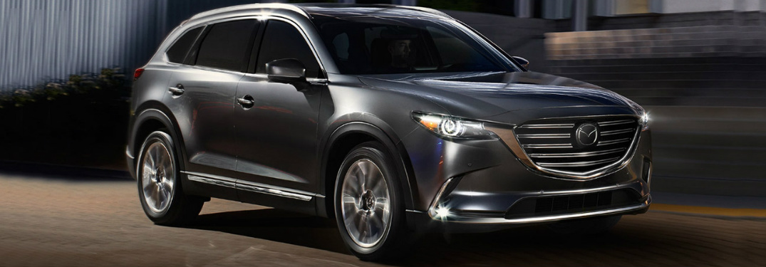 2019 Mazda CX-9 Exterior View in Gray