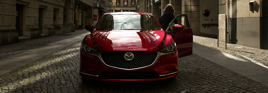 2018 Mazda6 Front End View in Red