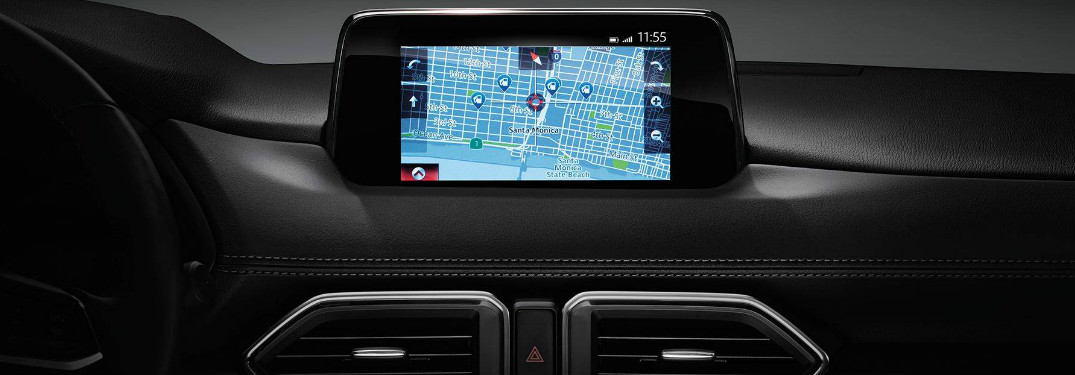 how to use the mazda navigation application