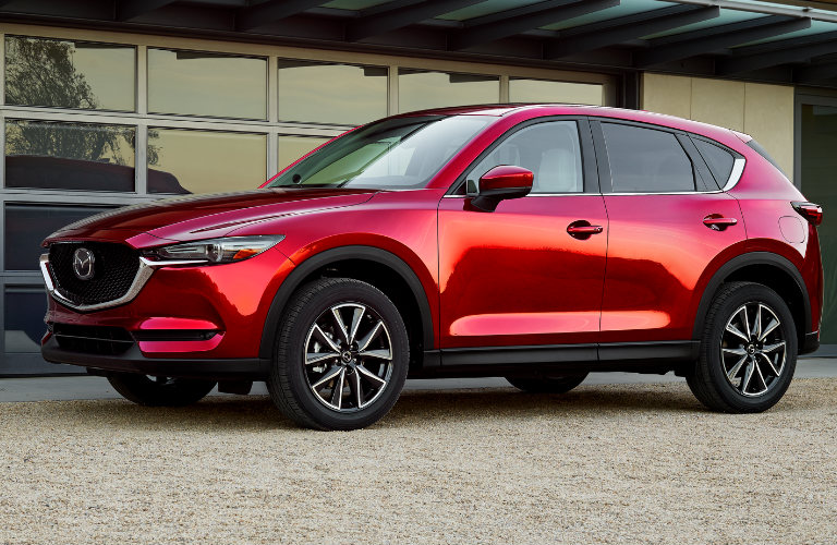 2018 Mazda CX-5 in Red - Side View