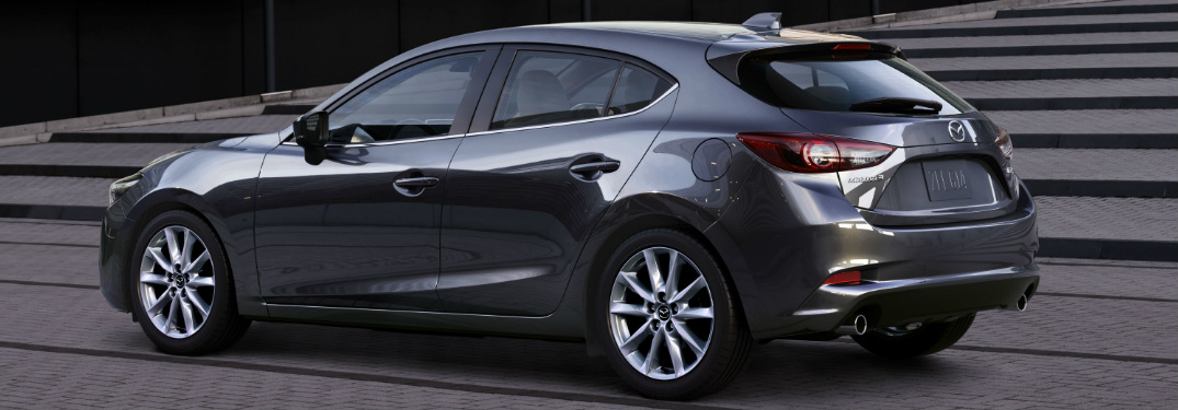 2018 Mazda3 5-Door exterior rear driver side