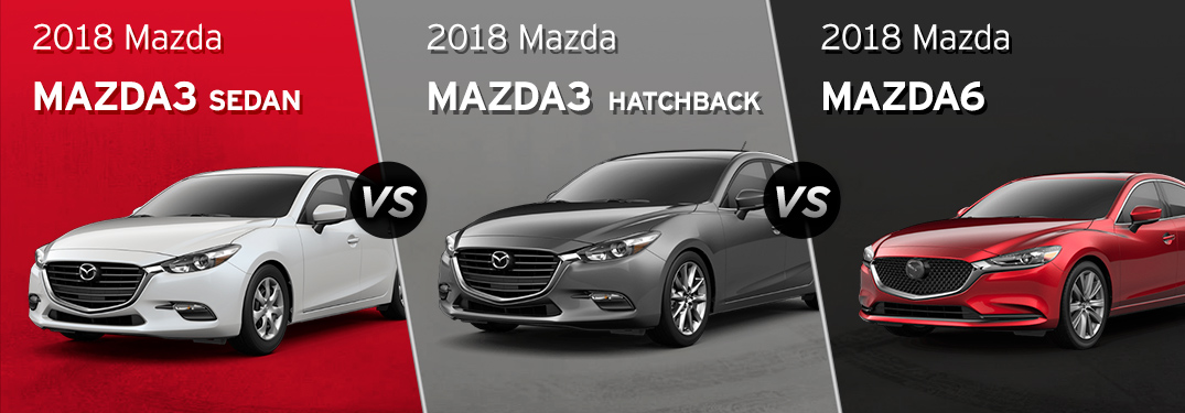 Mazda 3 Vs 6 >> What Is The Difference Between Mazda S Sedans Hatchback