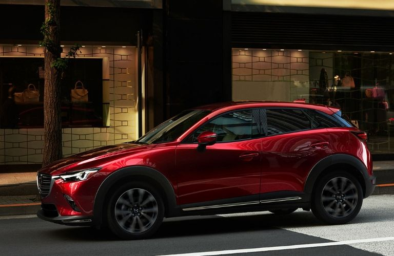 2019 Mazda CX-9 with New Soul Red Crystal Exterior Color