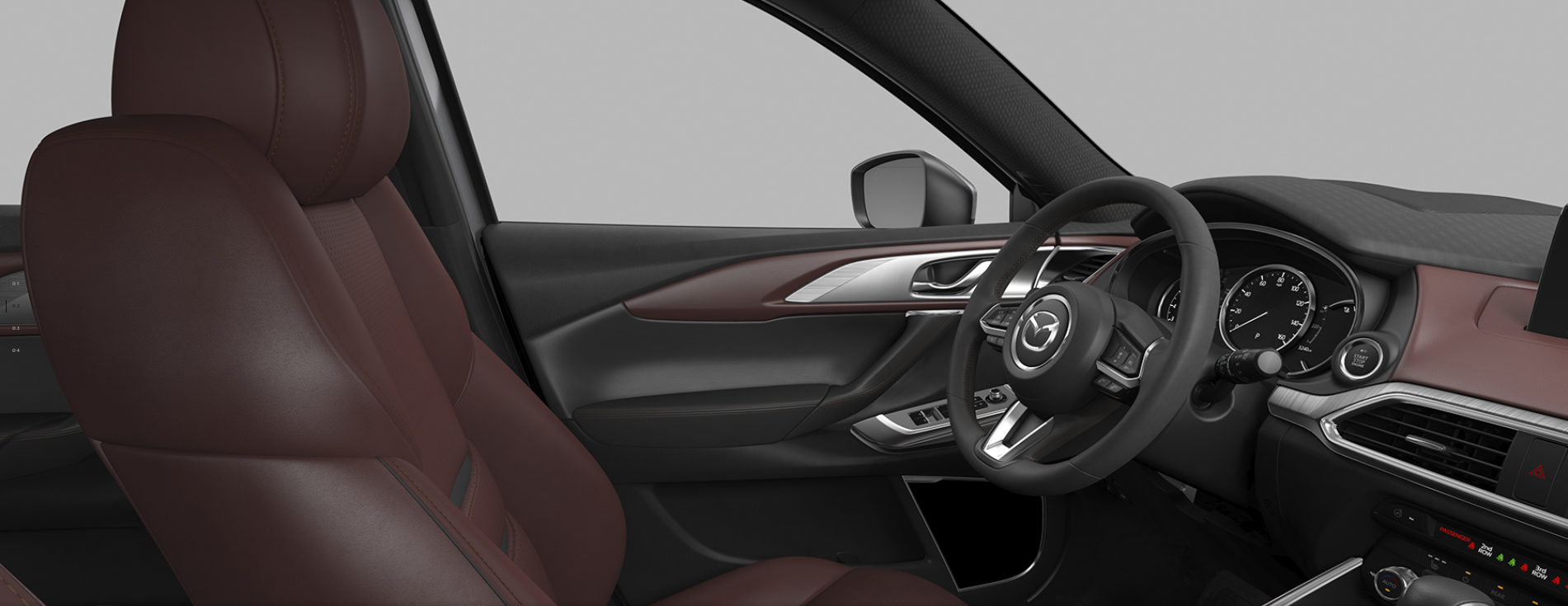 Interior Trim Material And Color Options Of The 2019 Mazda