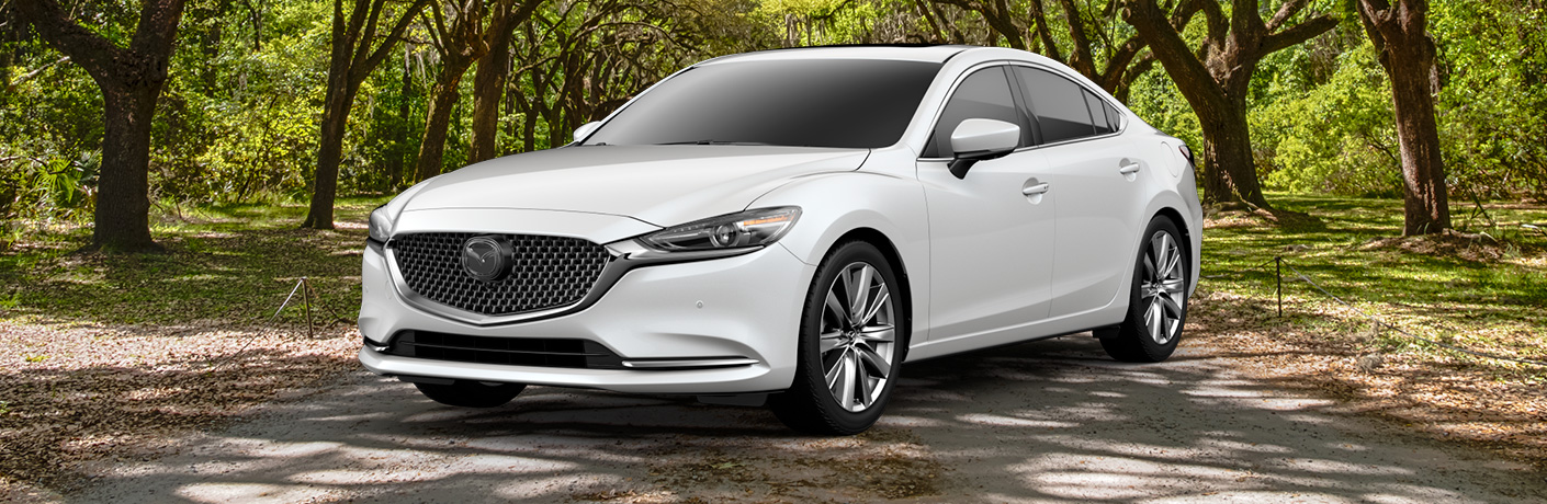 2019 Mazda6 Signature on trail