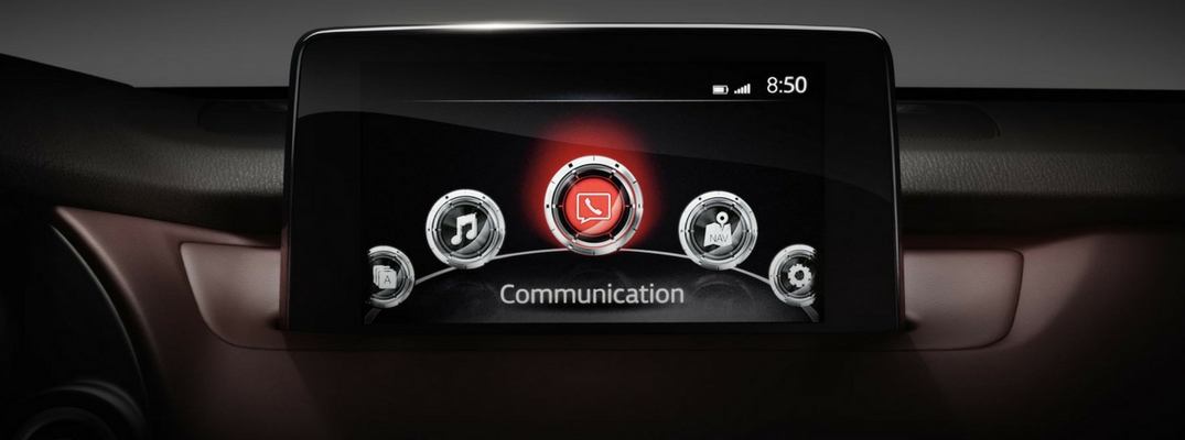MAZDA CONNECT™ infotainment system home screen