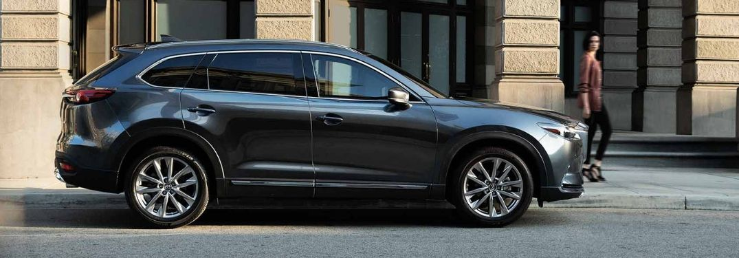 2019 Mazda CX-9 parked along street