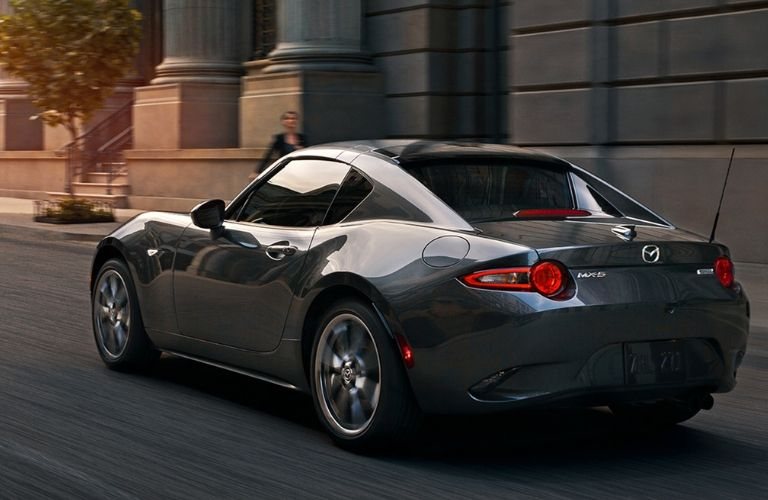 2019 Mazda MX-5 Miata RF on road