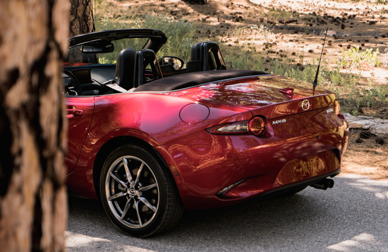 2019 Mazda MX-5 Miata rear
