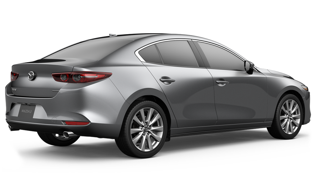 2020 Mazda3 Sedan in Sonic Silver Metallic