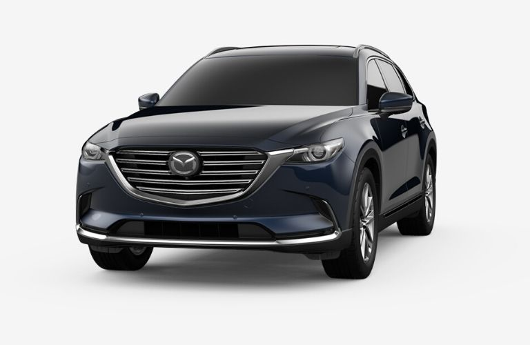 2020 Mazda CX-9 in Deep Crystal Blue Mica