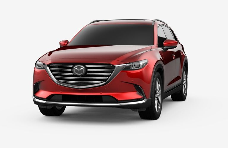 2020 Mazda CX-9 in Soul Red Crystal Metallic