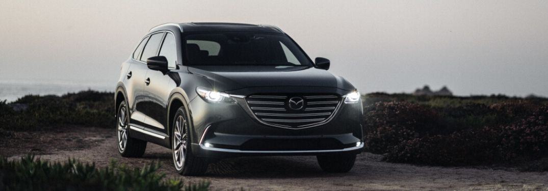 2020 Mazda CX-9 on coastal trail