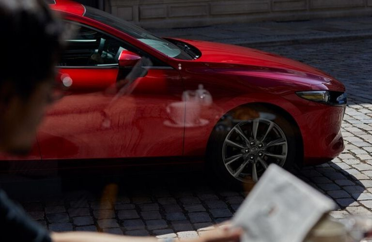 2020 Mazda3 Hatchback parked on street