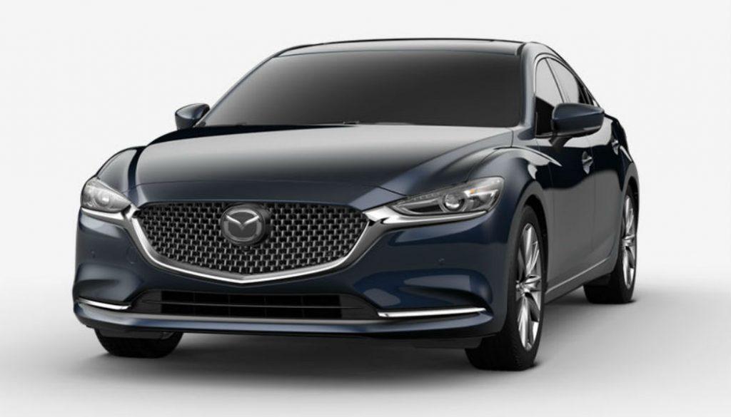 2020 Mazda6 in Deep Crystal Blue