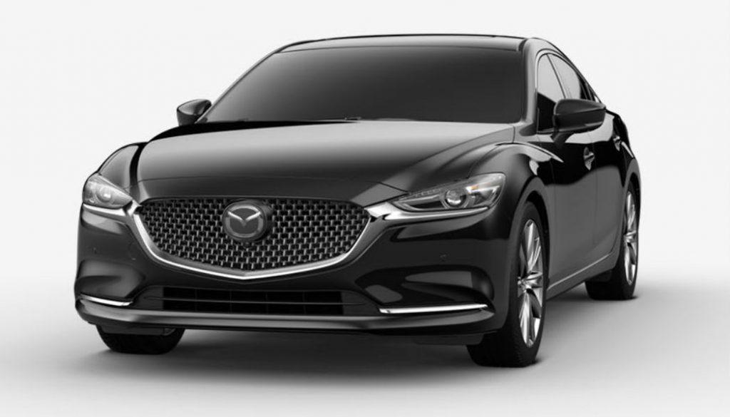 2020 Mazda6 in Jet Black