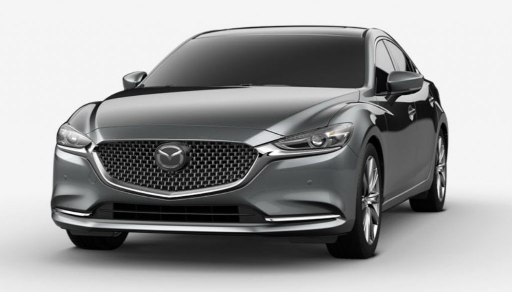 2020 Mazda6 in Machine Gray Metallic