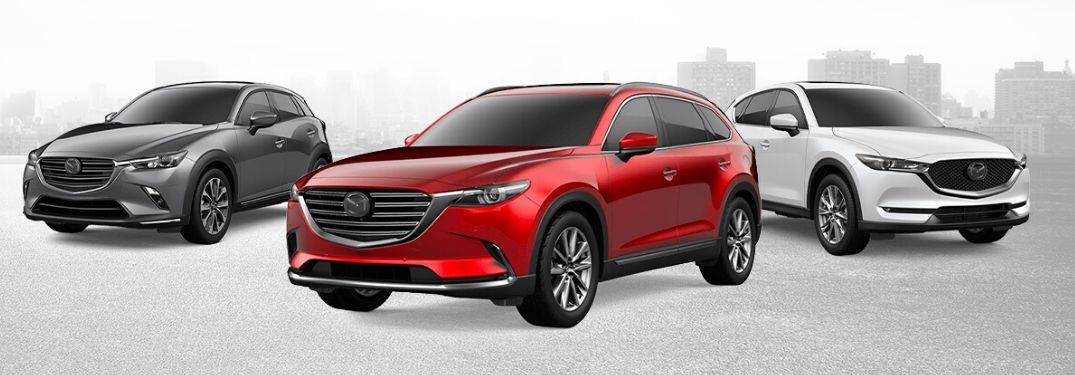 Mazda SUV and crossover lineup