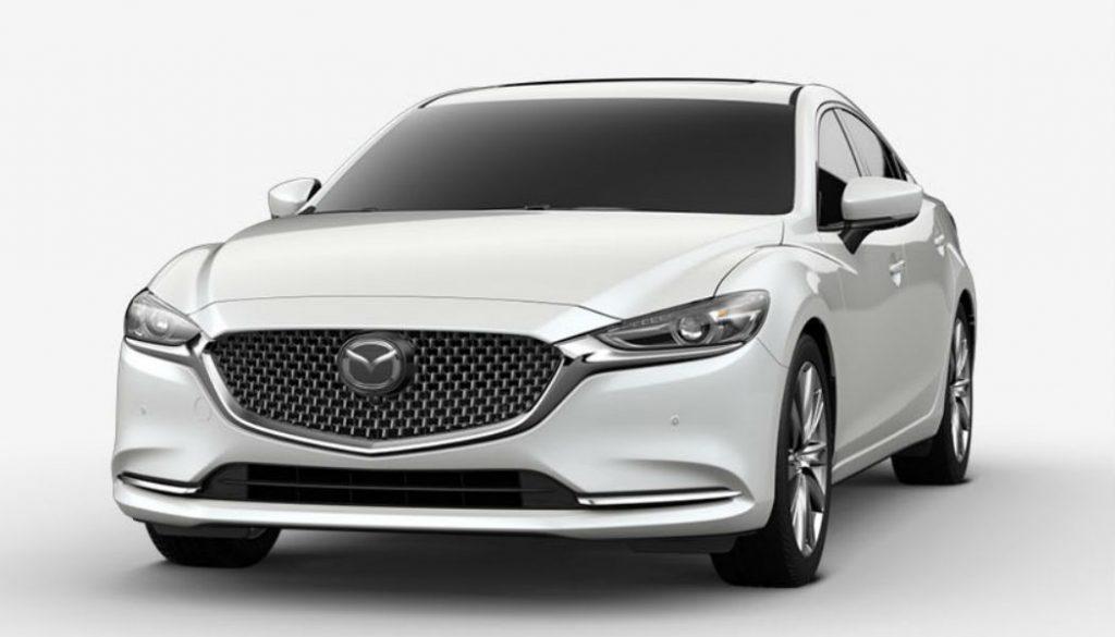 2020 Mazda6 in Snowflake White Pearl