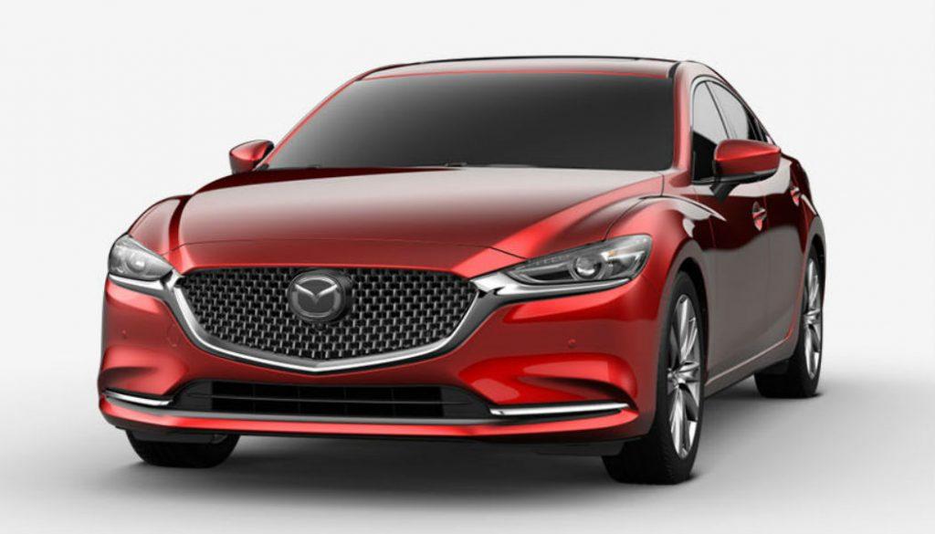 2020 Mazda6 in Soul Red Crystal Metallic
