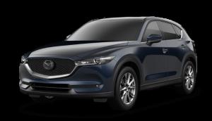 2020 Mazda CX-5 in Deep Crystal Blue