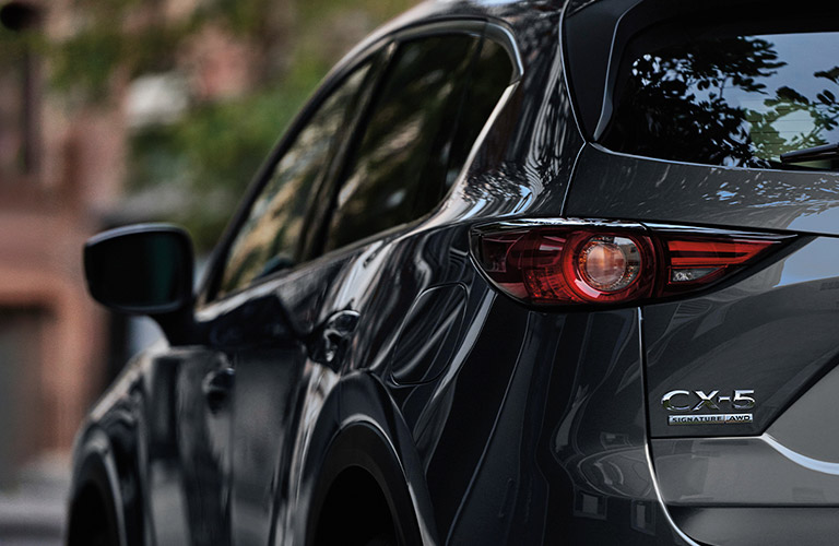 2020 Mazda CX-5 viewed from rear