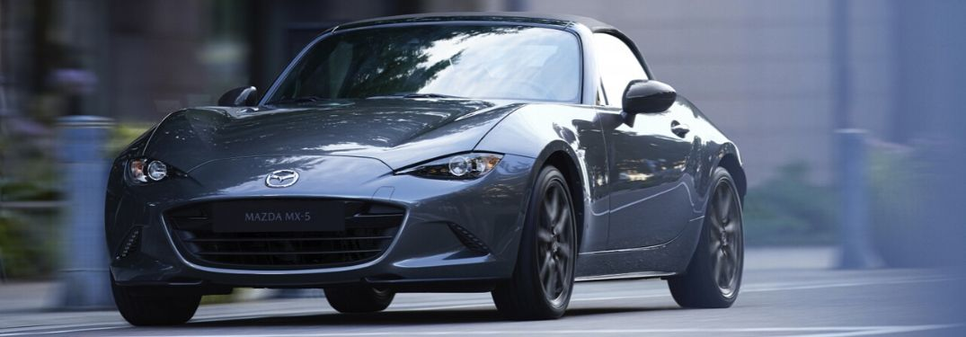 2020 Mazda MX-5 Miata on street