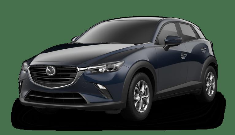 2020 Mazda CX-3 in Deep Crystal Blue
