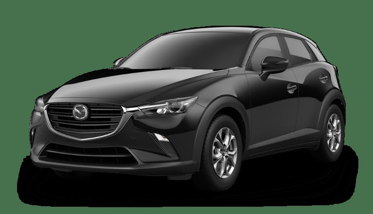 2020 Mazda CX-3 in Jet Black