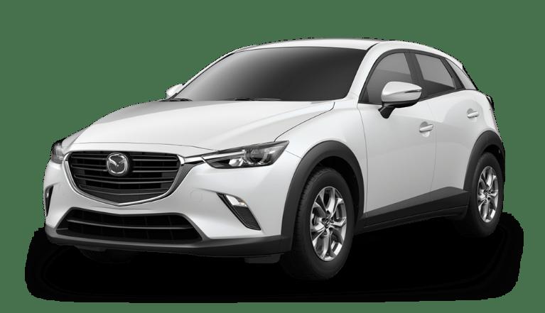 2020 Mazda CX-3 in Snowflake White