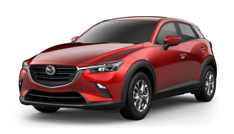2020 Mazda CX-3 in Soul Red Crystal Metallic