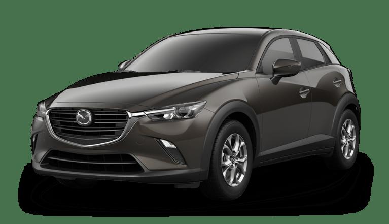 2020 Mazda CX-3 in Titanium Flash